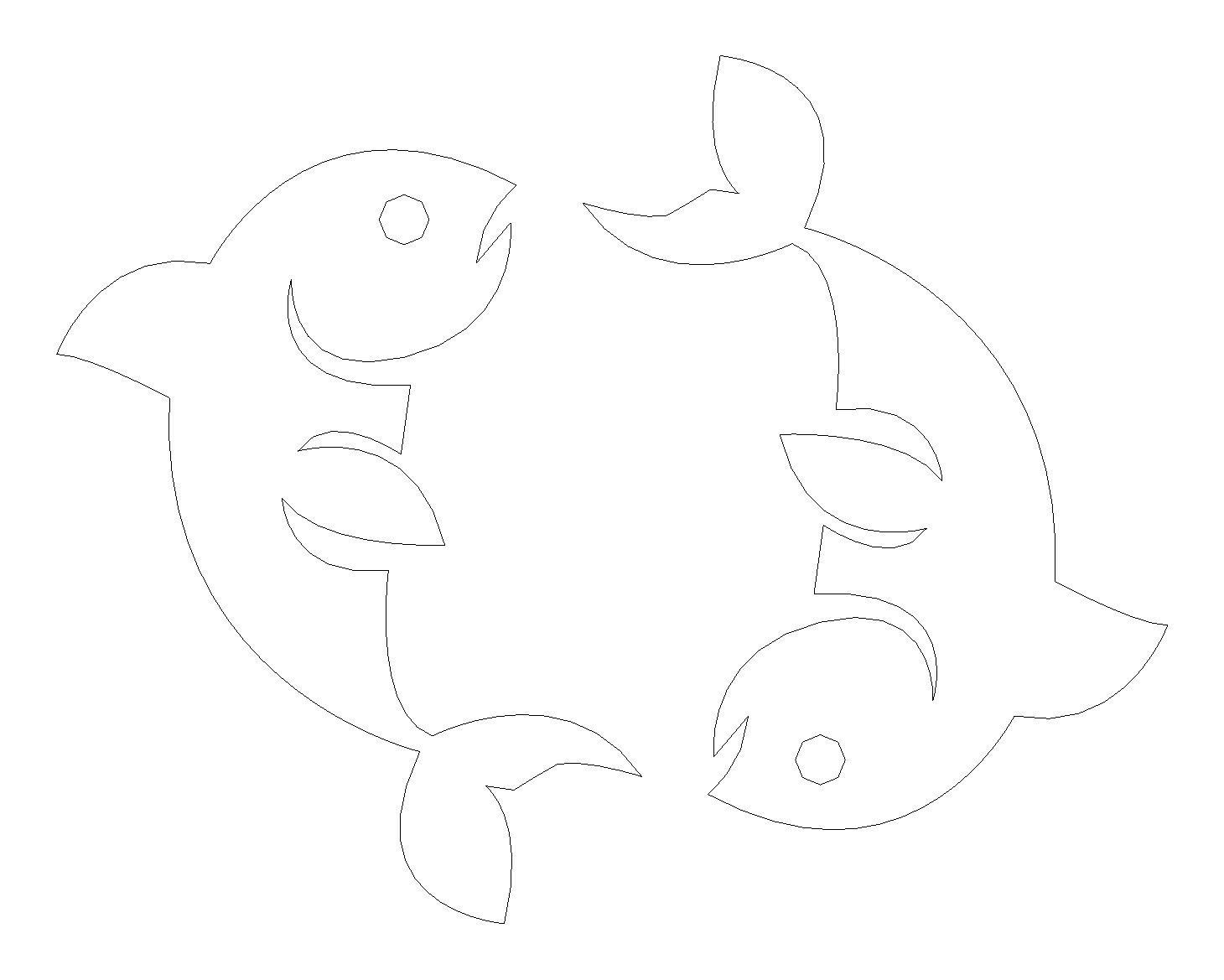 Fische Gravur